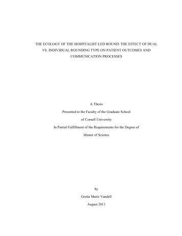Gretta Vandell - International Workspace Studies Program - Cornell ...