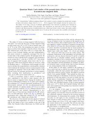 Quantum Monte Carlo studies of the ground states of heavy atoms in ...