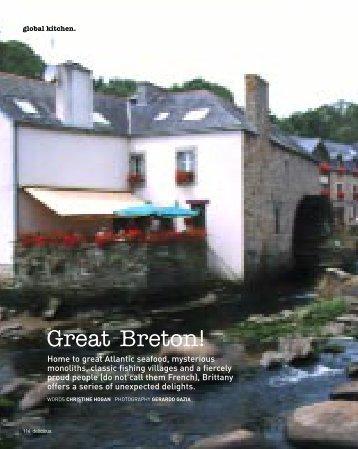 Great Breton! - Delicious. Magazine