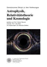 """Kombiniertes Skript zu den Vorlesungen """"Astronomie und Astrophysik"""""""