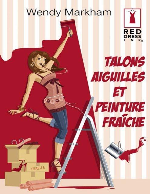 Talons peinture Dress Red aiguilles et fraîcheHarlequin lcTJuFK135