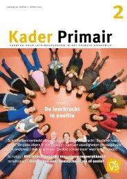 Kader Primair 2 (2010-2011). - Avs