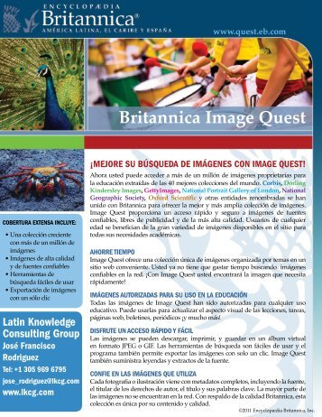 Britannica Image Quest - Latin Knowledge Consulting
