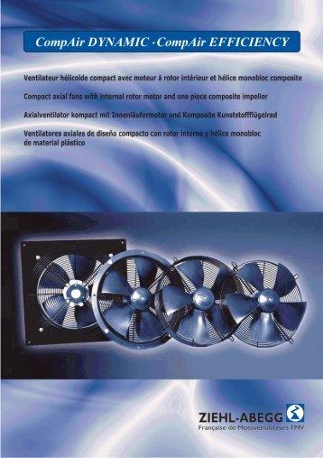 catalogue gamme compair - ziehl-abegg fmv