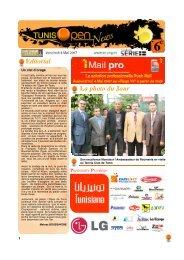 Bulletin n°6 Vendredi 4 Mai 2007 - Tennis Club de Tunis