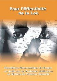 Pour l'Effectivité de la Loi (RDC) - ACORD
