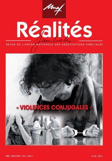Réalités Familiales n°90 - Violences Conjugales PDF - Unaf