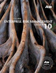 ENTERPRISE RISK MANAGEMENT - Aon