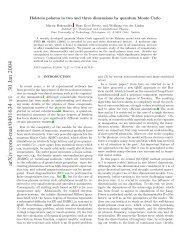 arXiv:cond-mat/0401634 v1 30 Jan 2004 - TU Graz - Institut für ...