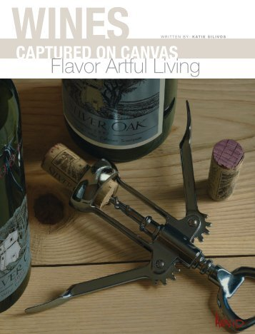 Wines Captured on Canvas - Arvid, Thomas