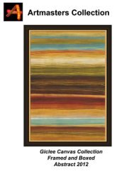 abstract giclee canvas catalog 2012 - Artmasters Collection