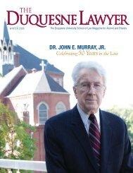 Dr. John E. Murray, Jr. - Duquesne University