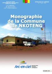 Fiche de présentation de la commune de Nkoteng - Cités Unies ...