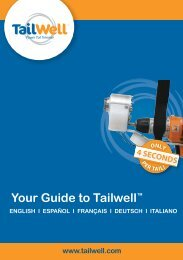 Tailwell Professional Booklet Eng,Span,Fren,Germ,Ital.indd