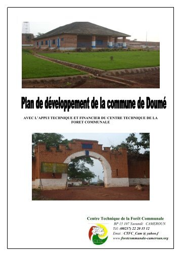 (PDC) de Doumé - Centre Technique de la Forêt Communale