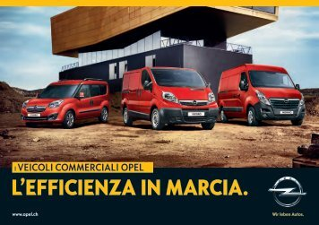 L'EFFICIENZA IN MARCIA. - Opel