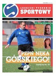 Legnicki Tygodnik Sportowy nr 2 - Legniczanin