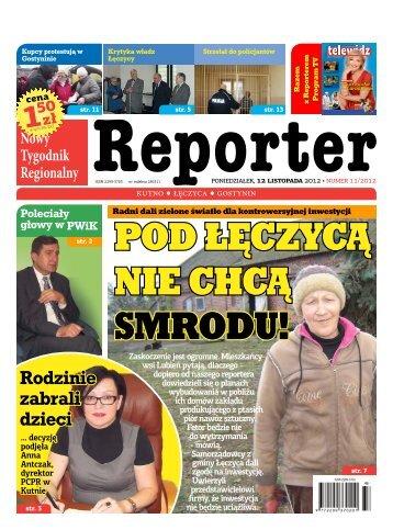Rodzinie zabrali dzieci - Reporter