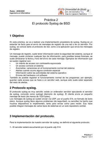 Práctica 2 - 0809 - it/aut/UAH