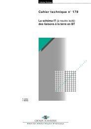 Le schéma IT (à neutre isolé) des liaisons à la ... - Schneider Electric