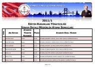 Tıklayınız! - İstanbul İl Milli Eğitim Müdürlüğü