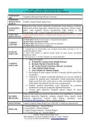 Şartname ve Başvuru formu - İstanbul İl Milli Eğitim Müdürlüğü