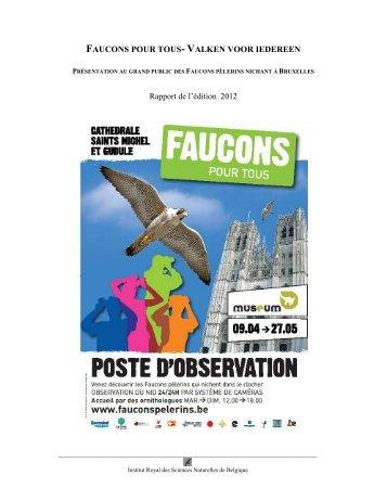 épisode 2012 - Faucons pour tous