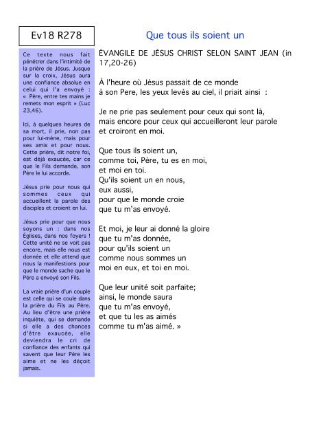 Textes Des Lectures Pour Le Mariage Vent Douest