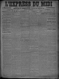 22 Juillet 1907 - Bibliothèque de Toulouse