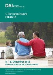 8. Dezember 2012 - Deutsches Anwaltsinstitut eV
