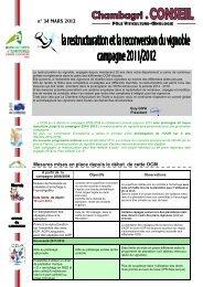 Mars 2012 règlementation.pub - Chambre d'agriculture de l'Aude