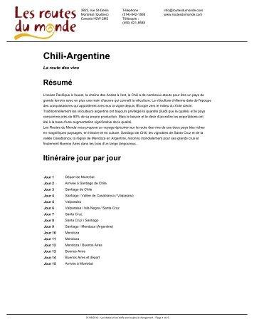 Télécharger le PDF - Routes du Monde