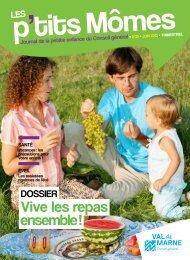 Télécharger Les P'tits Mômes n°25 - Conseil général du Val-de-Marne