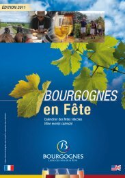 Calendrier des fêtes viticoles Wine events calendar - Bach Cantatas