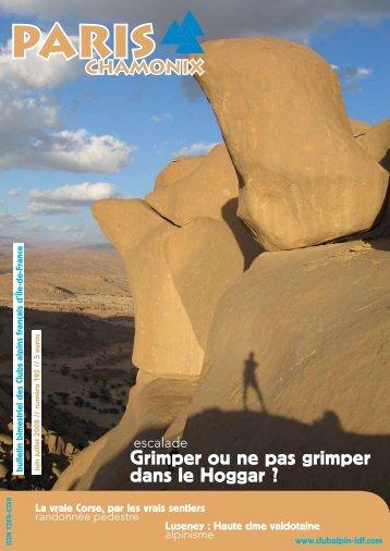 Télécharger ce numéro - Club alpin français Ile-de-France