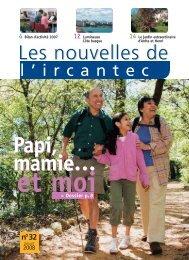 Les Nouvelles de l'Ircantec n°32 - Direction des retraites de la ...