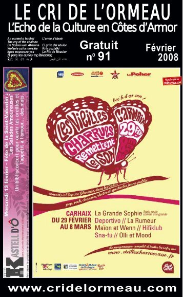 Festival Music'Ado - Le Cri de l'ormeau