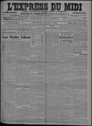 19 Mai 1913 - Bibliothèque de Toulouse