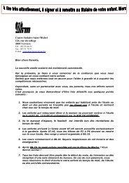 Centre Scolaire Saint-Michel 126, rue du collège ... - CSSM Verviers