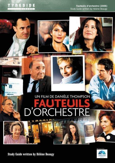 Fauteuils d'orchestre Study Guide - Routes Into Languages