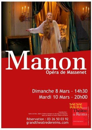 18h « Manon, le parangon de l'opéra comique - Cndp