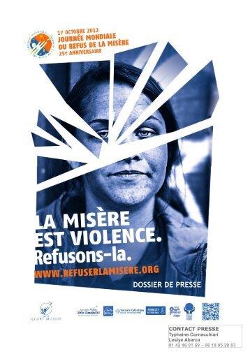 DOSSIER DE PRESSE - ATD Quart Monde France