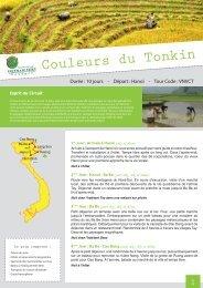 Couleurs du Tonkin - Voyage au Vietnam