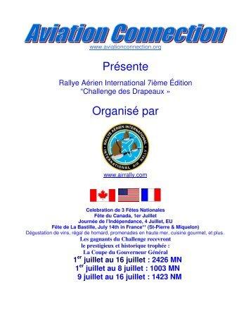 Présente Organisé par - International Air Rally