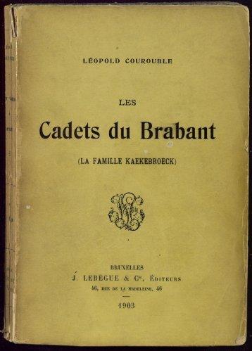 Cadets du Brabant