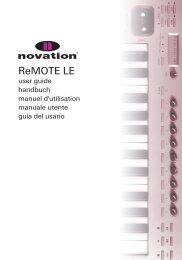 ReMOTE LE - Novation