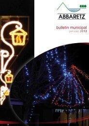 Janvier 2012 - Site officiel de la commune d'Abbaretz