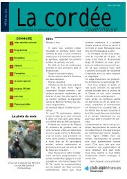 programme - Club Alpin Rouen - Free