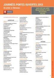 JOURNéES PORTES OUVERTES 2013 - Onisep