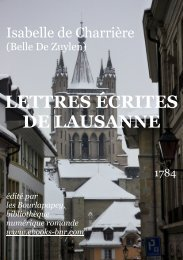 PDF (liseuse) - Bibliothèque numérique romande